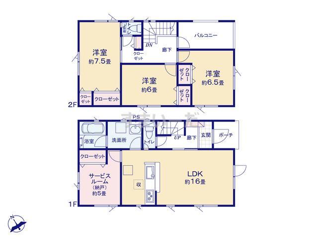 クレイドルガーデン 札幌市北区北二十六条西 第2の見取り図