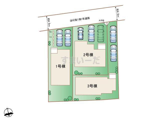 ハートフルタウン 読谷村長浜IIIの見取り図