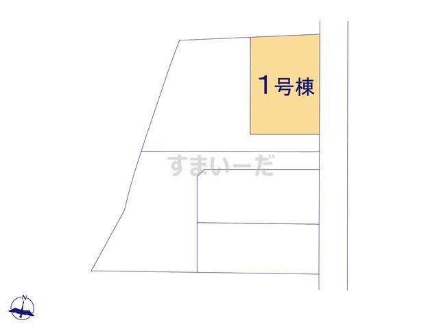 クレイドルガーデン 新潟市東区牡丹山 第4の見取り図