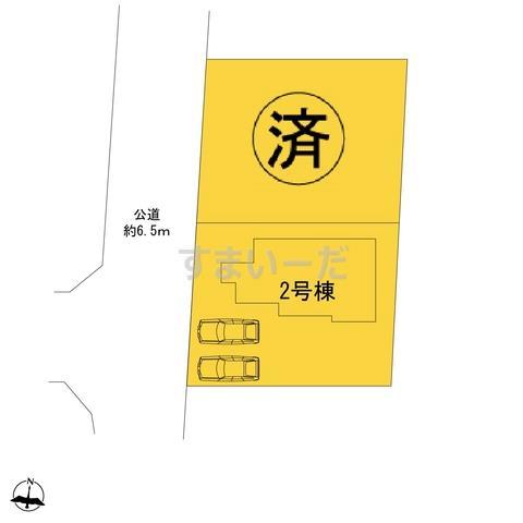 ハートフルタウン 横浜市磯子区岡村7丁目1463番の見取り図