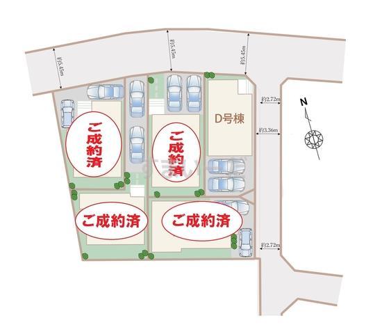 ハートフルタウン 中村区日比津町の見取り図