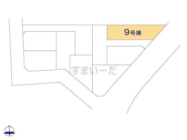 クレイドルガーデン 名古屋市名東区猪子石 第2の見取り図