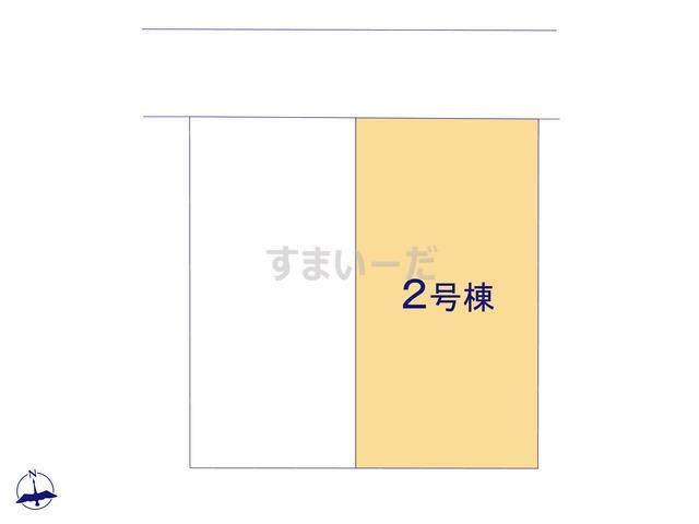 クレイドルガーデン 八戸市桜ヶ丘 第8の見取り図