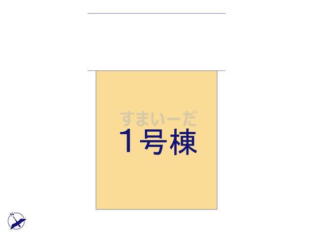 クレイドルガーデン 福岡市東区松島 第2の見取り図