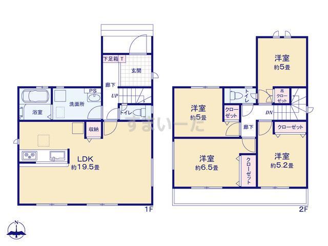 グラファーレ 名古屋市遠若町1棟の見取り図
