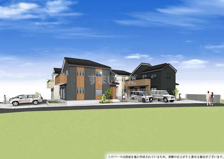 ブルーミングガーデン 神戸市西区玉津町今津4棟-長期優良住宅-の外観②