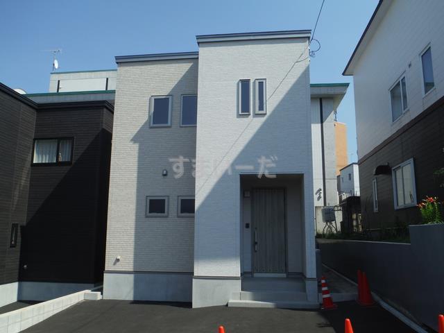 グラファーレ 札幌市西宮の沢2棟の外観①