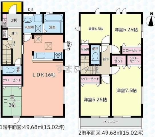 グラファーレ 浜松市参野町4期1棟の見取り図