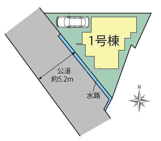 ブルーミングガーデン 福岡市早良区原1丁目1棟-長期優良住宅-の見取り図