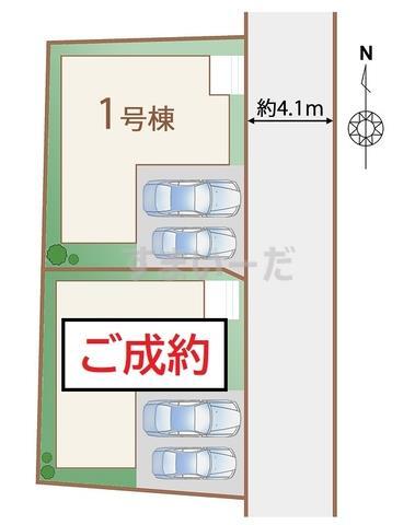 ハートフルタウン 仙台富田の見取り図