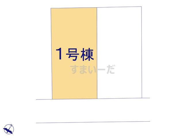 ハートフルタウン 仙台山の寺13期の見取り図