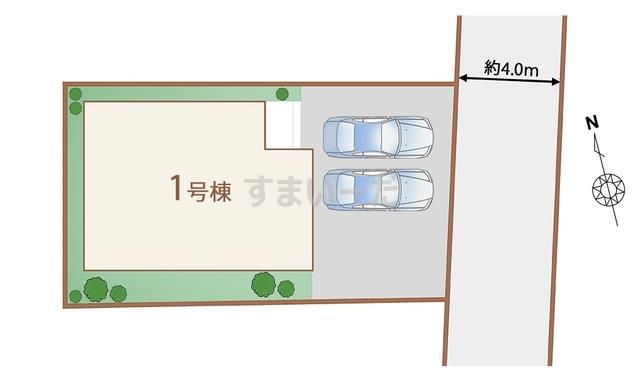 ハートフルタウン 仙台高松9期の見取り図