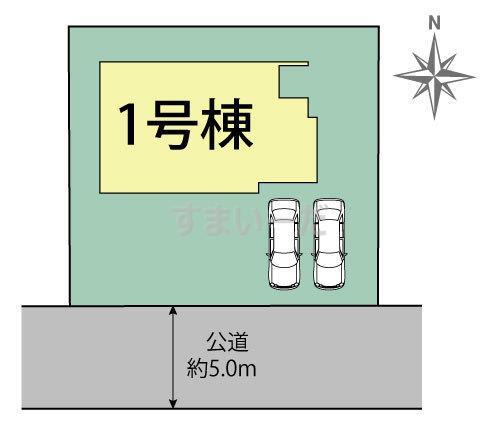 ブルーミングガーデン 横浜市金沢区富岡西6丁目1棟-長期優良住宅-の見取り図