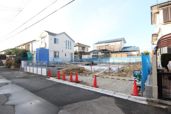 ブルーミングガーデン 横浜市金沢区富岡西6丁目1棟-長期優良住宅-の外観①