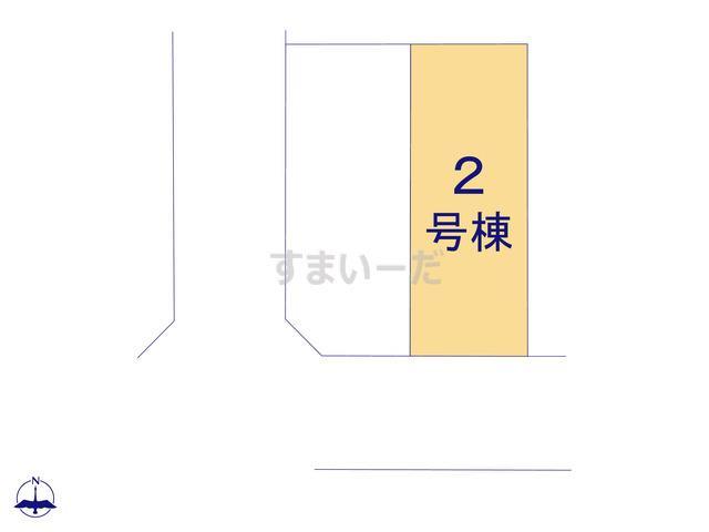 グラファーレ 名古屋市宝神12期2棟の見取り図