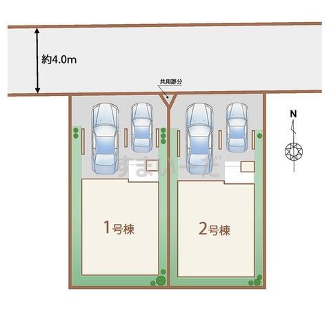 ハートフルタウン 仙台大和町3期の見取り図