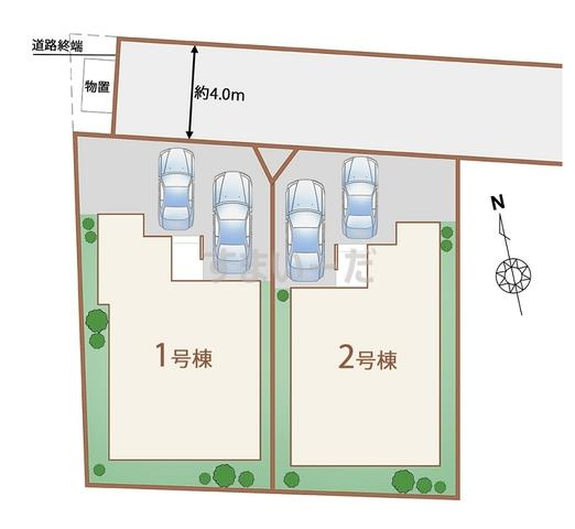 ハートフルタウン 仙台南小泉3期の見取り図