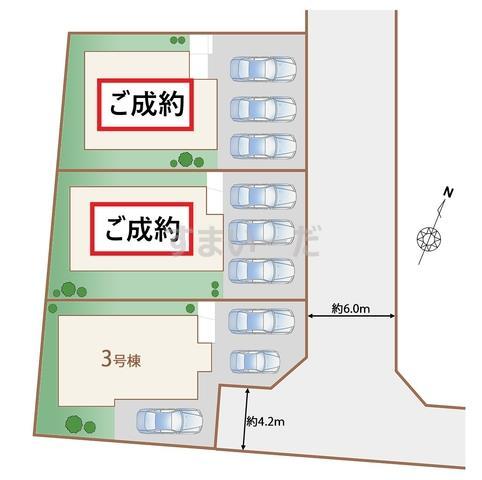 ハートフルタウン 仙台四郎丸13期の見取り図