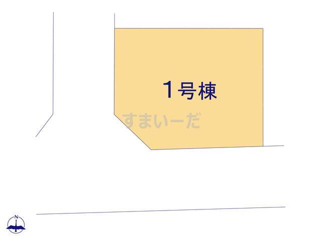 グラファーレ 千葉市千城台東2期1棟の見取り図