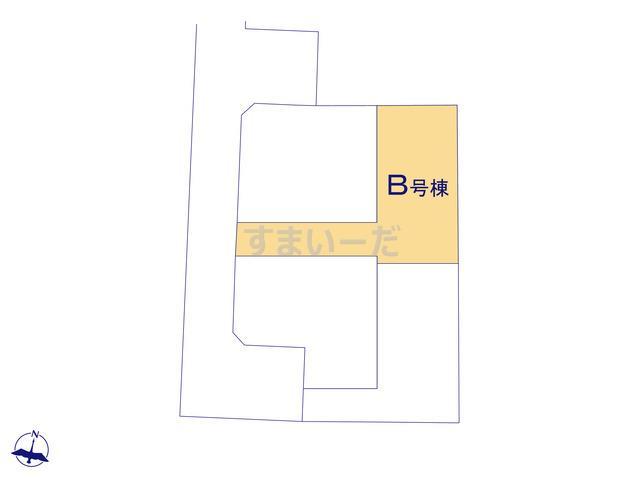 ハートフルタウン さいたま南区松本第2の見取り図