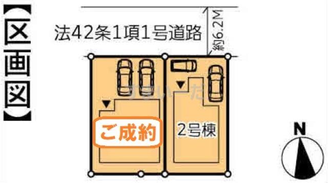 ハートフルタウン 泉区松陵IX期の見取り図