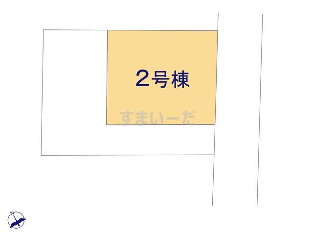 ハートフルタウン 相模原市中央区富士見3丁目59番の見取り図