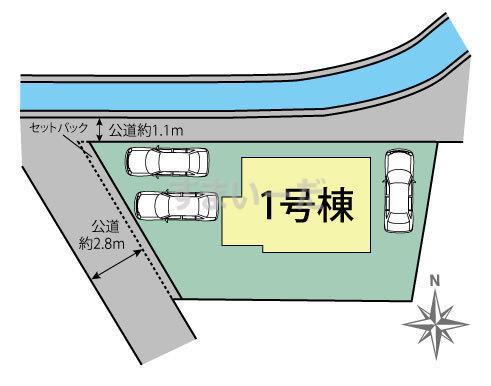 ブルーミングガーデン 福岡市城南区東油山3丁目1棟の見取り図