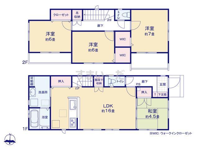 グラファーレ 福岡市飯倉1棟の見取り図