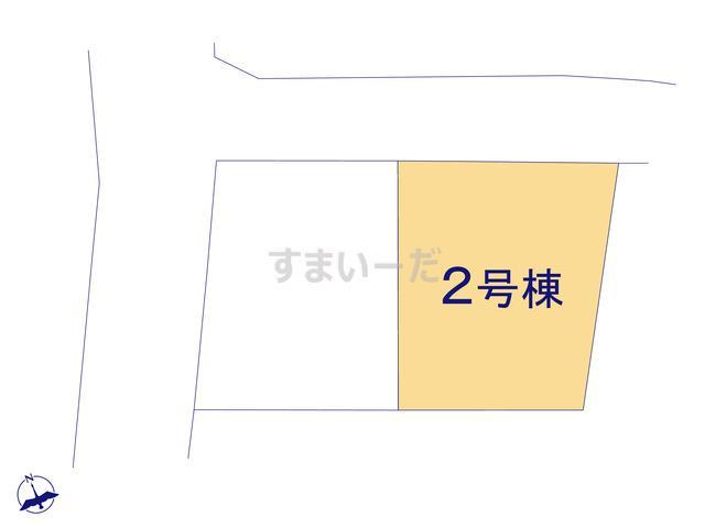 リーブルガーデン 東区松田3丁目第二の見取り図