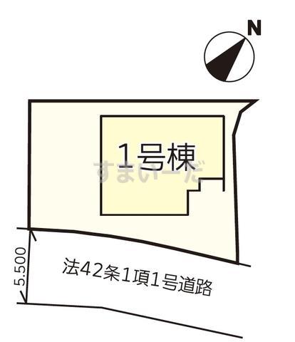 リナージュ 小松島市大林町20-2期の見取り図