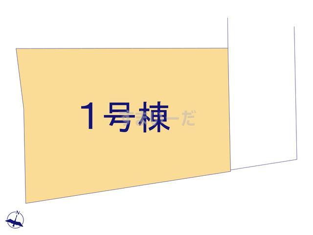 グラファーレ 盛岡市東仙北2期1棟の見取り図