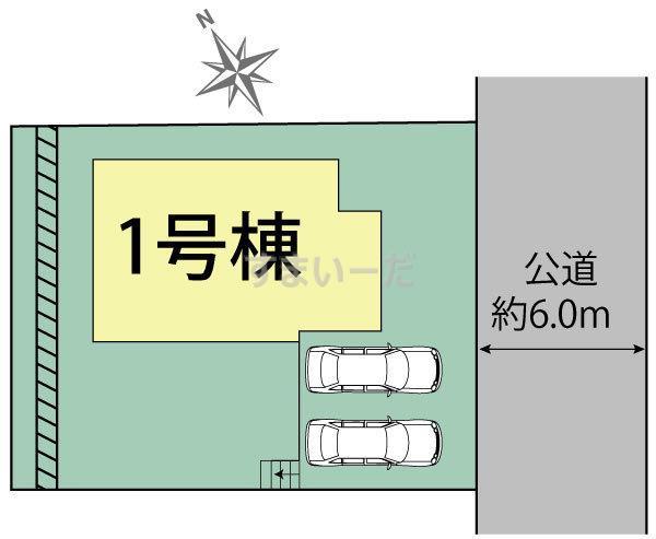 ブルーミングガーデン 神戸市垂水区小束山7丁目1棟-長期優良住宅-の見取り図