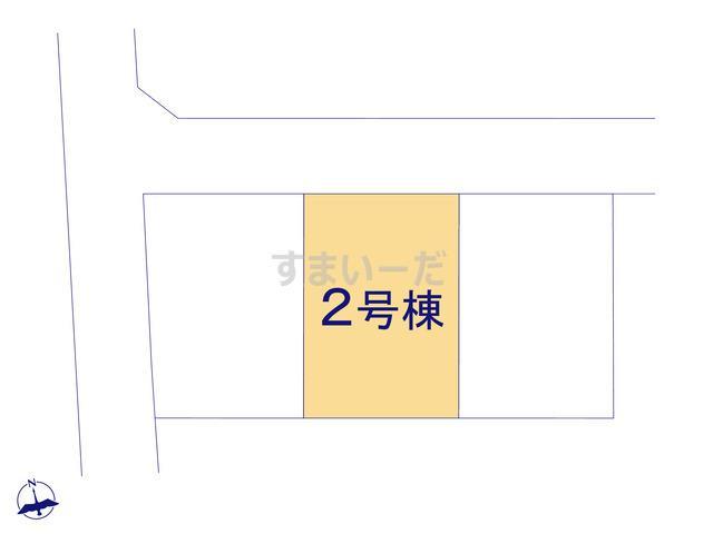 クレイドルガーデン 伊勢崎市国定町 第8の見取り図