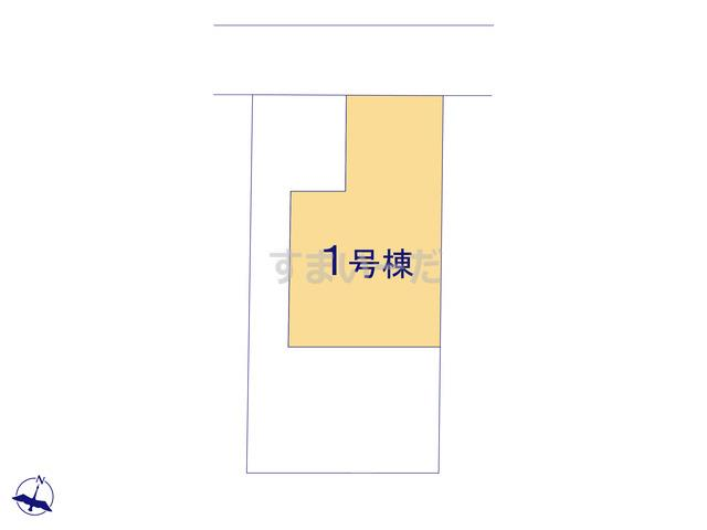 クレイドルガーデン 新潟市中央区南笹口 第1の見取り図