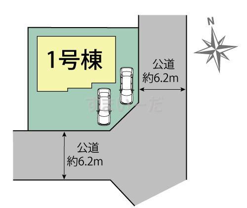 ブルーミングガーデン 土浦市永国東町1棟-長期優良住宅-の見取り図