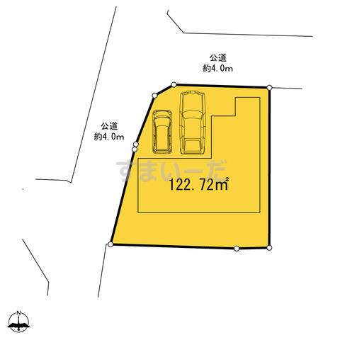 ハートフルタウン 横浜市泉区和泉中央北3丁目4391番の見取り図