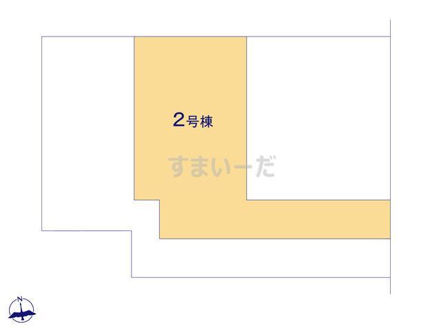 クレイドルガーデン 伊勢崎市粕川町 第1の見取り図