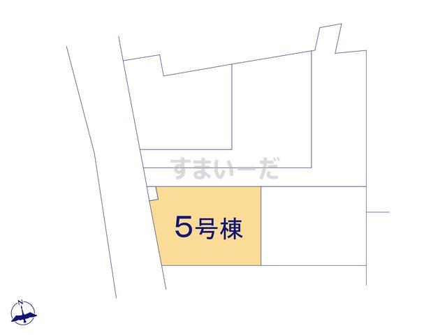 リナージュ 狭山市柏原19-2期の見取り図