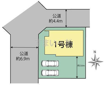 ブルーミングガーデン 名古屋市中川区戸田ゆたか2丁目1棟-長期優良住宅-の見取り図