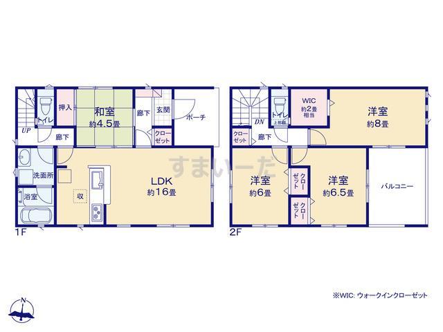 クレイドルガーデン 名古屋市緑区姥子山 第3の見取り図