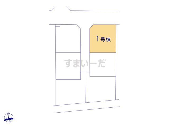 クレイドルガーデン 伊勢崎市赤堀今井町 第3の見取り図