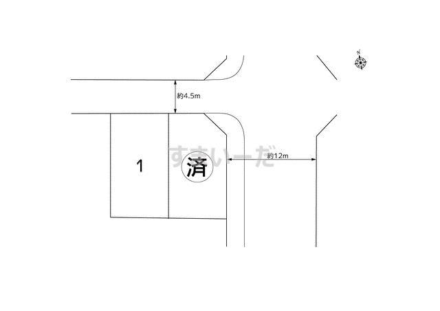 ハートフルタウン 小山台2丁目2804の見取り図