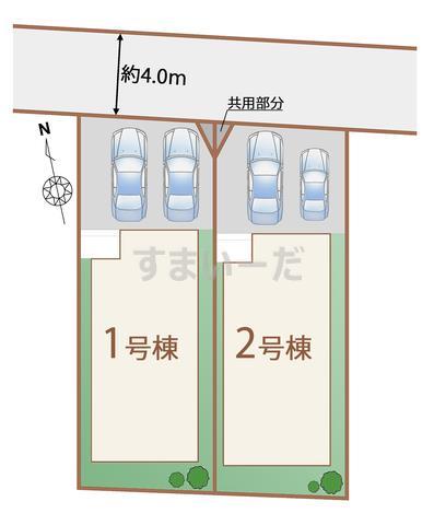 ハートフルタウン 仙台文化町の見取り図
