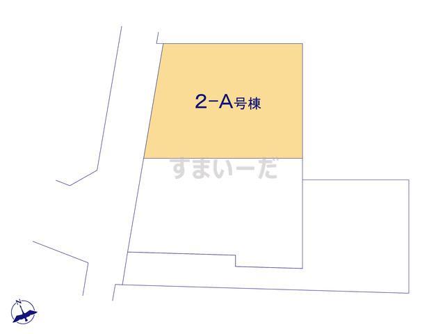 ハートフルタウン 花見川区朝日ヶ丘3丁目-II期の見取り図