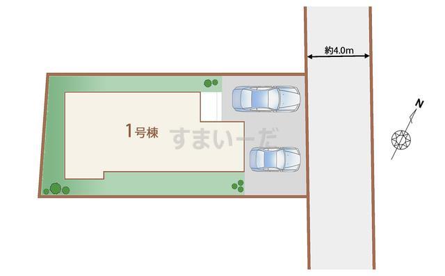 ハートフルタウン 仙台上谷刈2期の見取り図