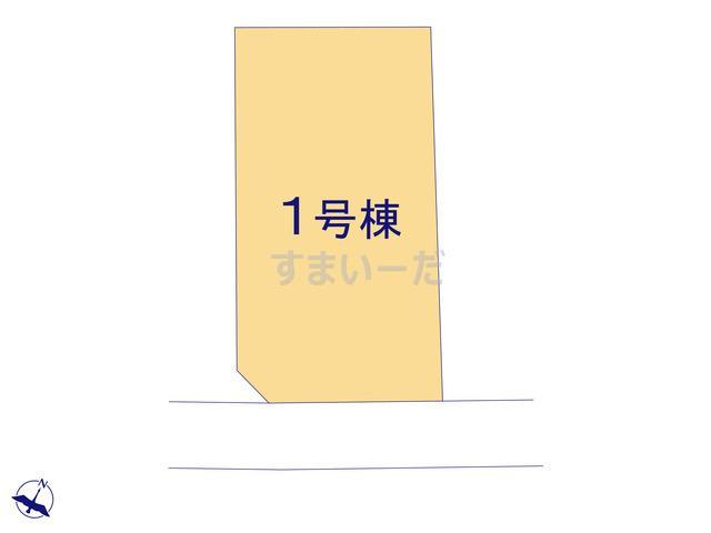 リーブルガーデン 富岡市七日市第2の見取り図