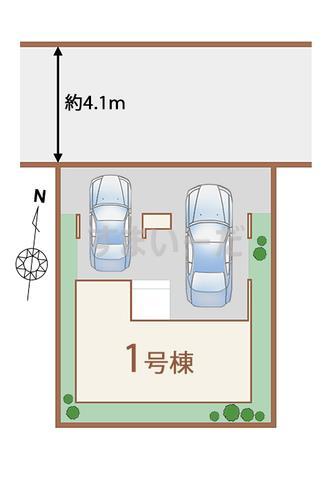 ハートフルタウン 仙台宮町5期の見取り図