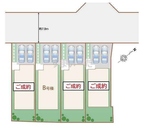 ハートフルタウン 仙台南光台33期の見取り図