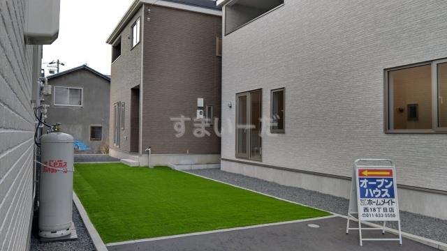 クレイドルガーデン 札幌市白石区菊水上町四条 第2の外観①