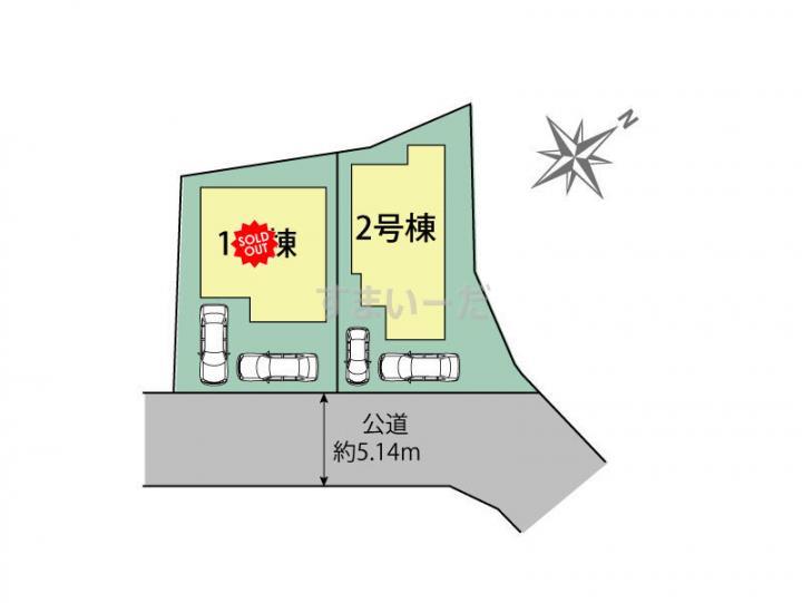 ブルーミングガーデン 福岡市城南区田島3丁目2棟-長期優良住宅-の見取り図